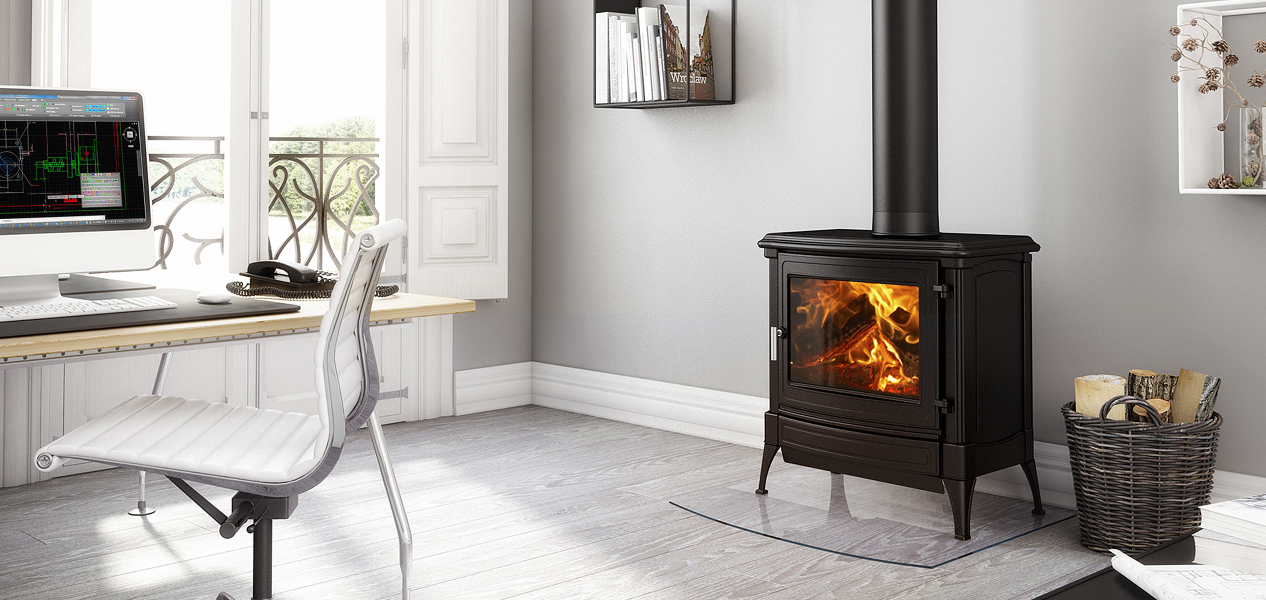 Cast iron wood, gas and oil stoves - Nestor Martin - Home